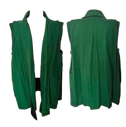 Sobretodo color verde