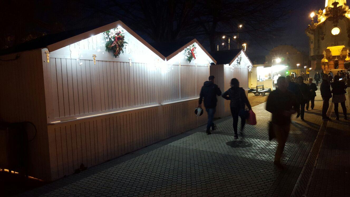 Cabañas para mercados Navideños