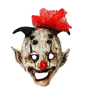 Te 0029 Mascara de latex payaso asesino
