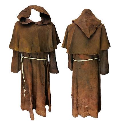 Hábito completo de monje franciscano