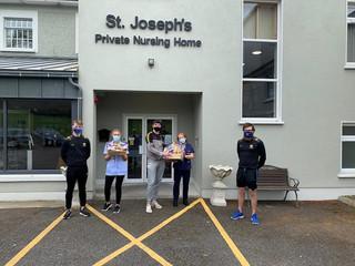 Hampers Delivered to Local Nursing Homes