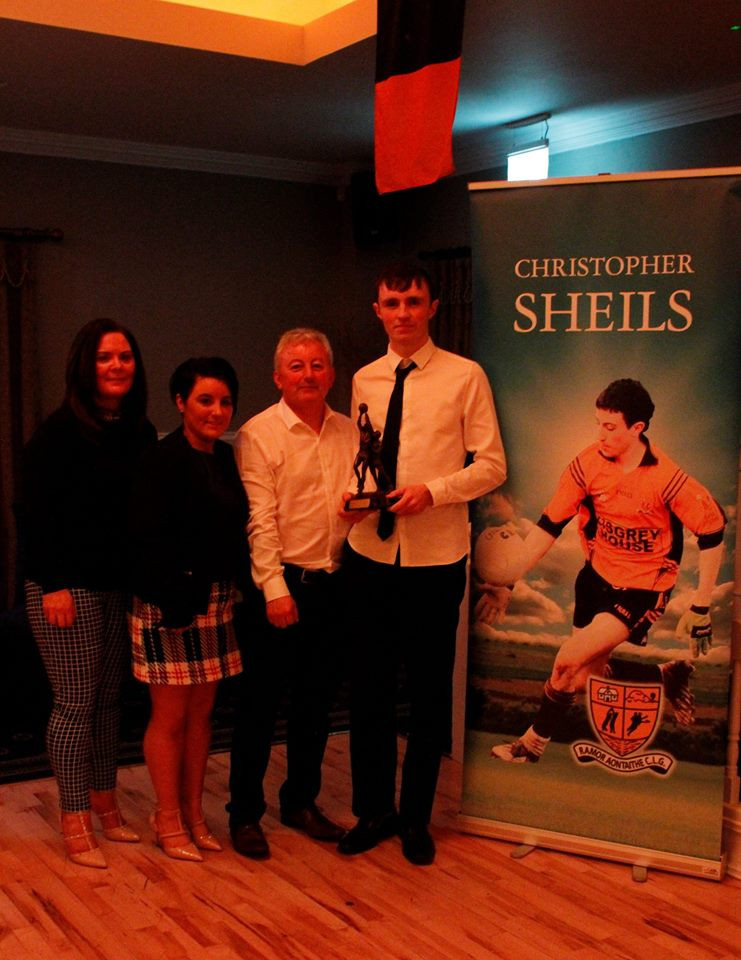 Christopher Sheils Minor Player of the Year for 2017: Brian Quilty