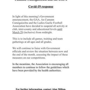 GAA Suspend All Activity