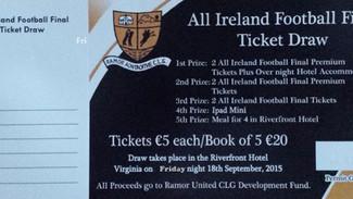 All Ireland Football Ticket Draw