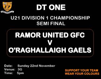 U21 Championship Div.1 Semi Final