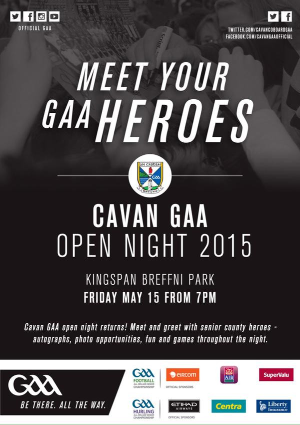 Meet Your GAA Heroes