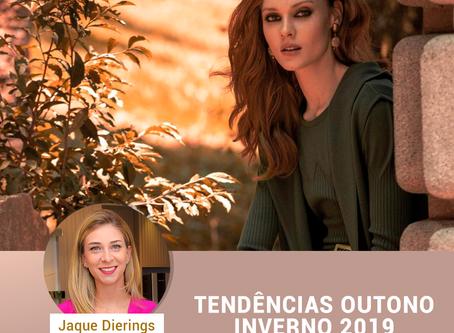 TENDÊNCIAS OUTONO INVERNO 2019