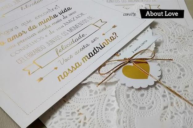 635beeab6 Ideias para convites de padrinhos de casamento