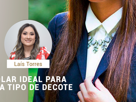 Colar ideal para cada tipo de decote