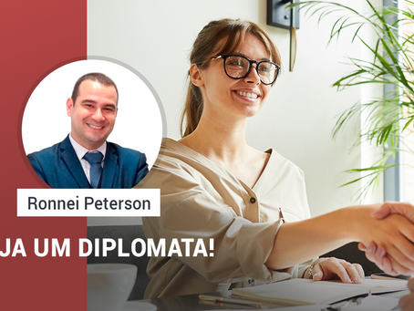 Seja um Diplomata!