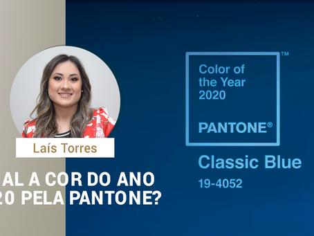 Qual a cor do ano 2020 pela Pantone?