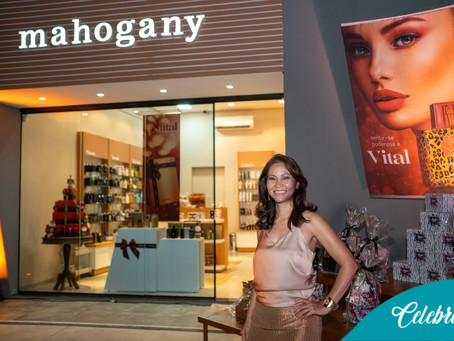 Inauguração da Mahogany o novo conceito em fragrância de Dourados