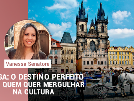 Praga: O destino perfeito para quem quer mergulhar na cultura.