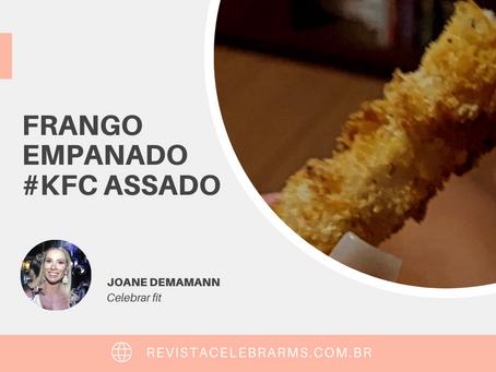 Frango empanado #kfc assado