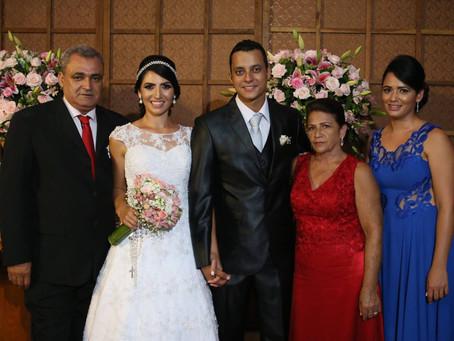 Casamento Jéssica Rodrigues e Dhione Aurélio