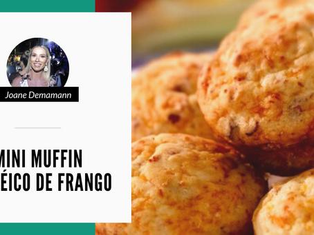 Mini Muffin Protéico de Frango