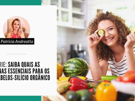 Série: Saiba quais as vitaminas essenciais para os seus cabelos-silício orgânico
