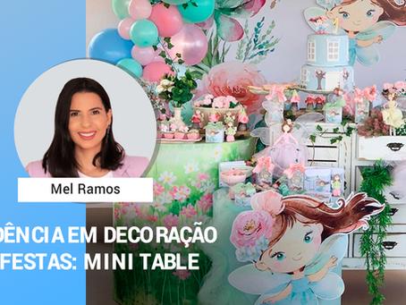 Tendência em decoração de festas: Mini Table.