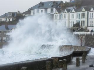 Storm Ciara hits Cornwall 09/02/20