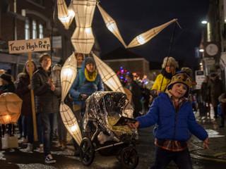 Truro city of lights parade 2018