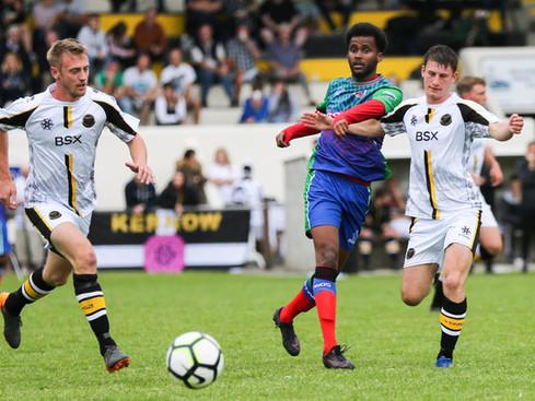 Kernow FA 5-0 win against a team from the Somalian diaspora in the UK, Barawa. 30/05/19