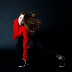 Charlotte Agnew doing Hip Hop dancing