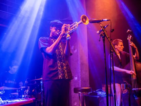 Mark Kavuma performing at the Jazz Cafe Camdem, London. 06.11.18