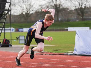 Ben Brooks 400m race, Exeter, 2019