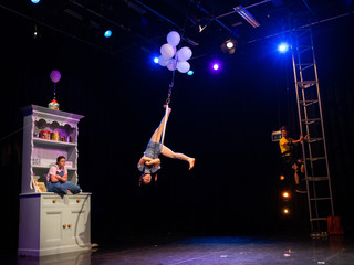 Lavrak performing The Show Reach at Penryn Campus