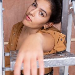 Fashion shoot with Georgina Abreu