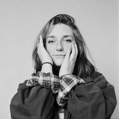 Studio portrait of Charlotte Agnew
