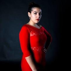 Georgina Abreu doing Ballroom and Latin Dancing