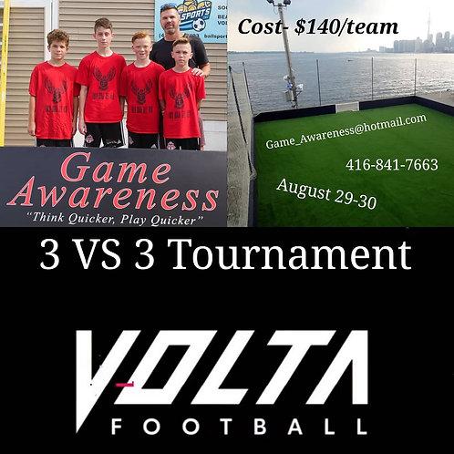 3 VS 3 Volta Soccer Tournamnet