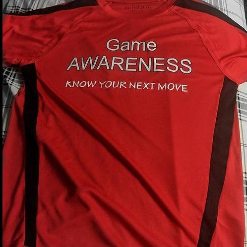Game Awareness T-Shirt (RED)