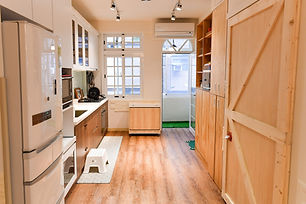 This is our kitchen which is also available for rental.
