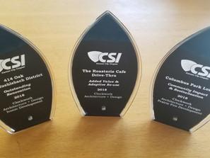 Clockwork Takes Home Three Awards at 2018 CSI Banquet