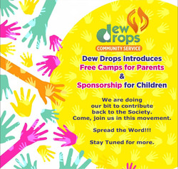 Community Service by Dew Drops
