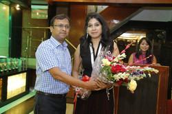Honouring Ms Alpa Mahansaria