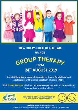 A-3 GROUP THERAPY POSTER