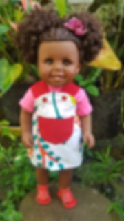 Charlott ad the Two Puffs Doll