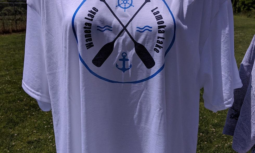 Canoe Paddle Waneta Lamoka Lake Shirt