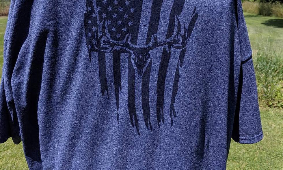 Huntin Dirty American Flag