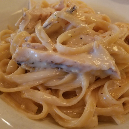 Review: Romano's Macaroni Grill (Under 140 words)