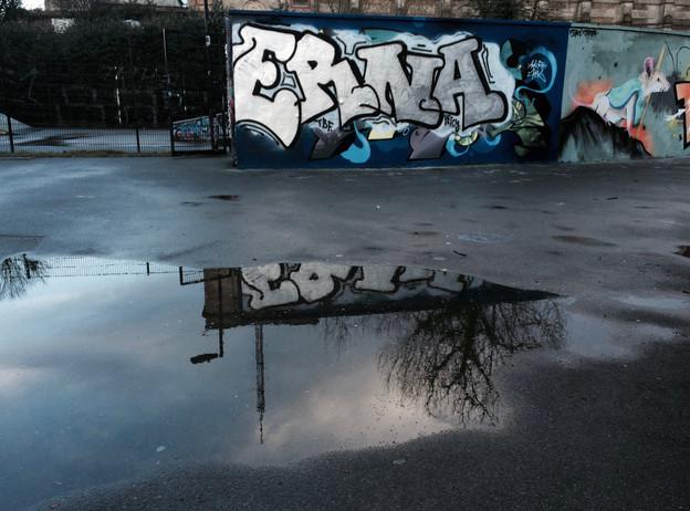 Ally Pally Graffiti