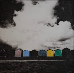 Brightlingsea Beach Huts - colour