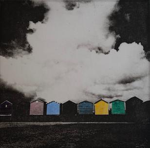 Brightlingsea Beach Huts - colour