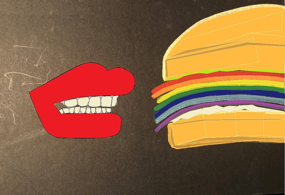 rainbow sandy