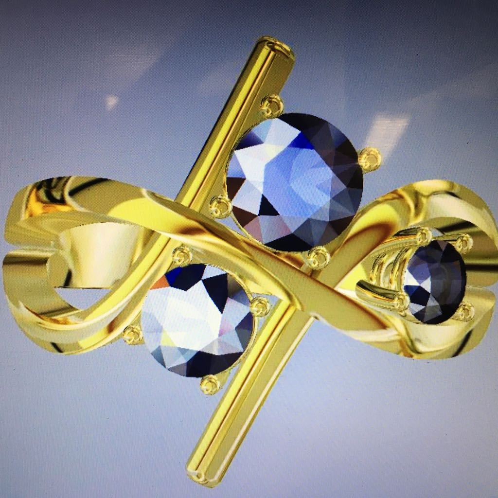 CAD design of bespoke Diamond