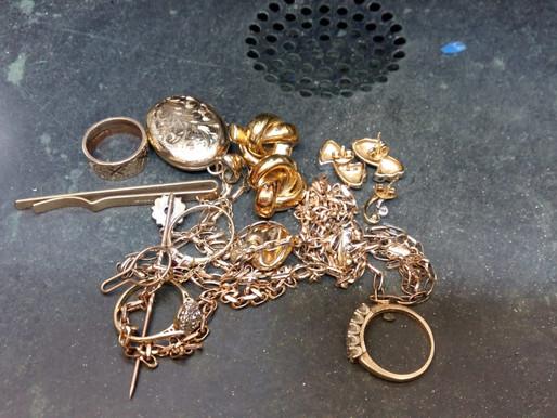 Turning sentimental jewellery into one stunning bangle!