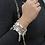 Thumbnail: ChloBo Cute Mini Open Heart Bracelet